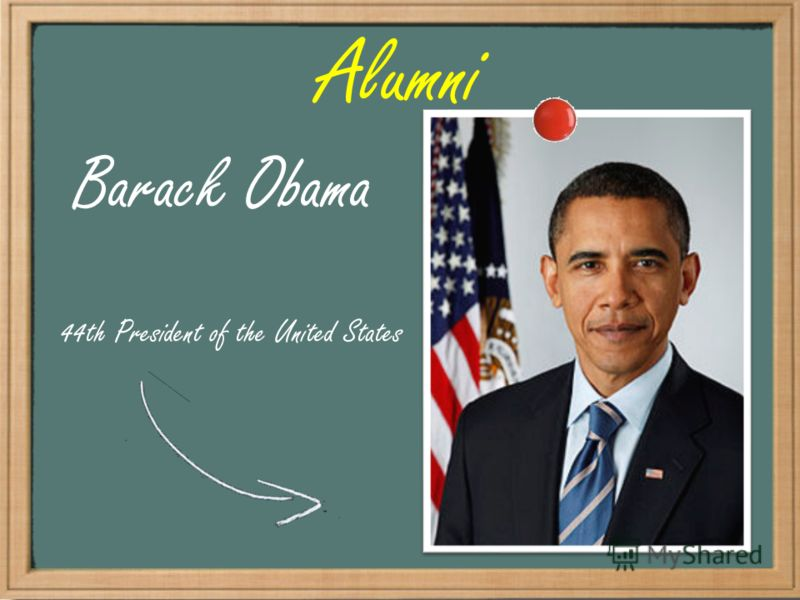 Alumni Barack Obama 44th President of the United States