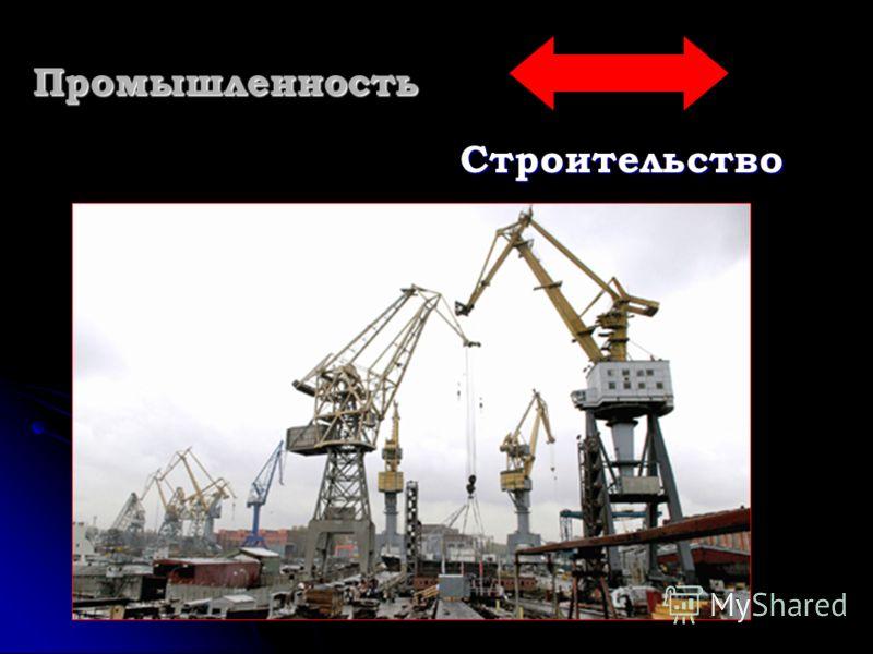Промышленность Строительство