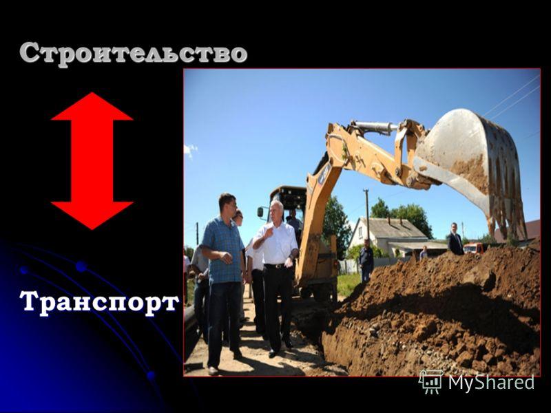 Строительство Транспорт