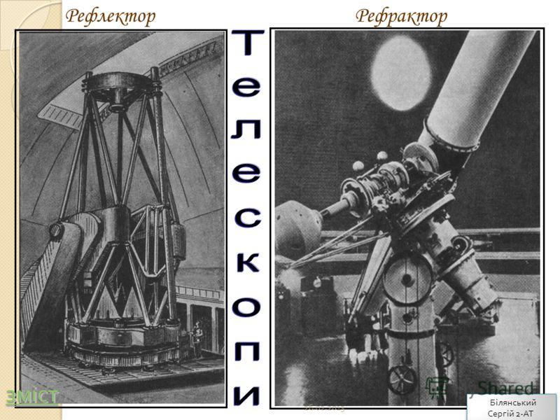 РефлекторРефрактор 26.02.2013 зміст Білянський Сергій 2- АТ