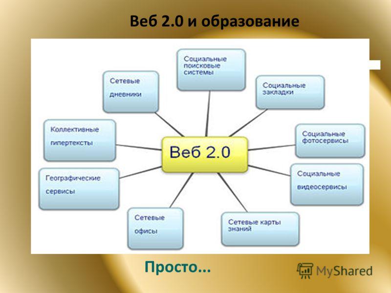 Веб 2.0 и образование Просто...