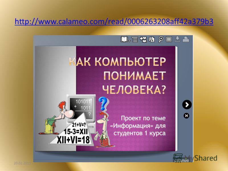 http://www.calameo.com/read/0006263208aff42a379b3 20.02.2013