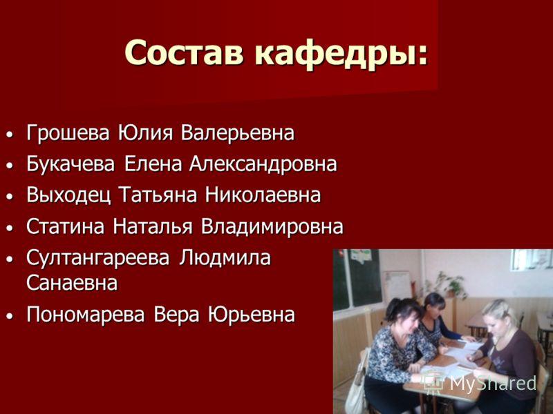 статина наталья владимировна