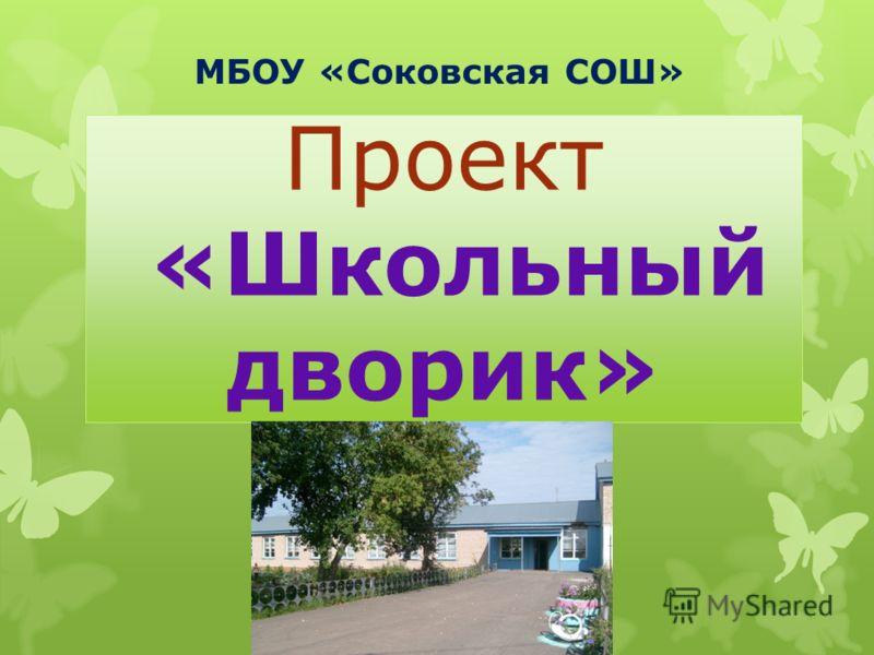 Проект «Школьный дворик» МБОУ «Соковская СОШ»