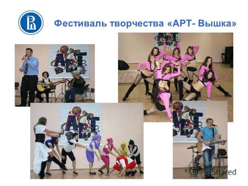 Фестиваль творчества «АРТ- Вышка»