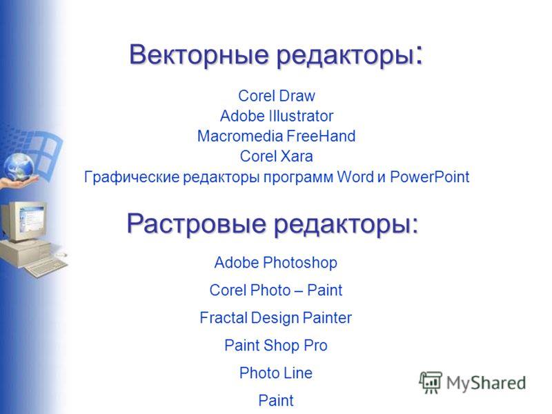 виды графических редакторов - фото 4