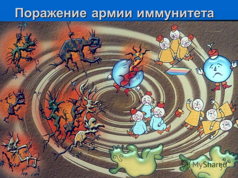 Поражение армии иммунитета