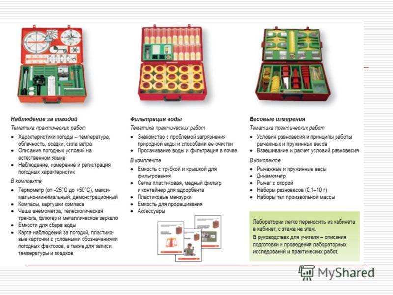 Мобильные комплекты для практических и лабораторных работ