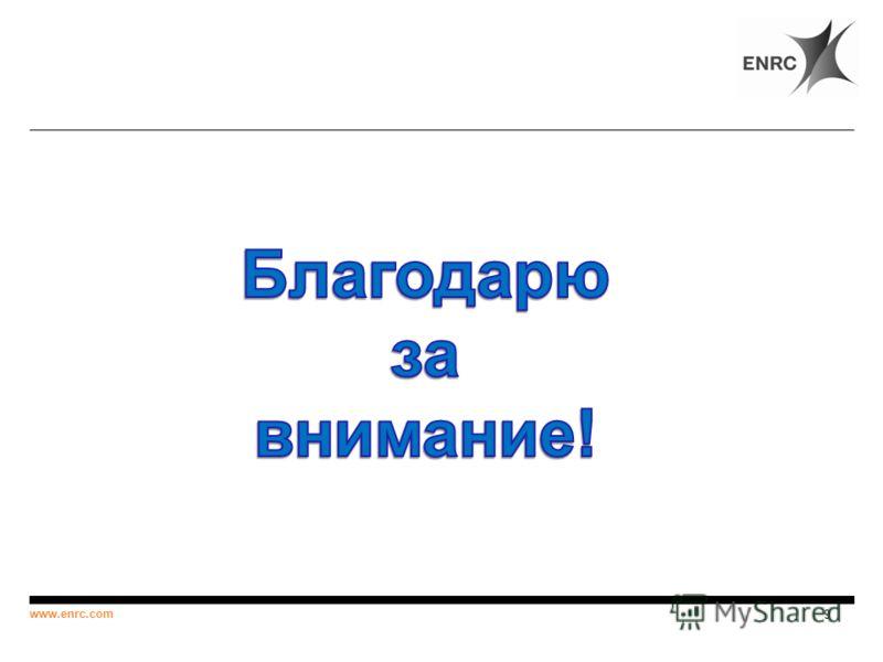 9 www.enrc.com