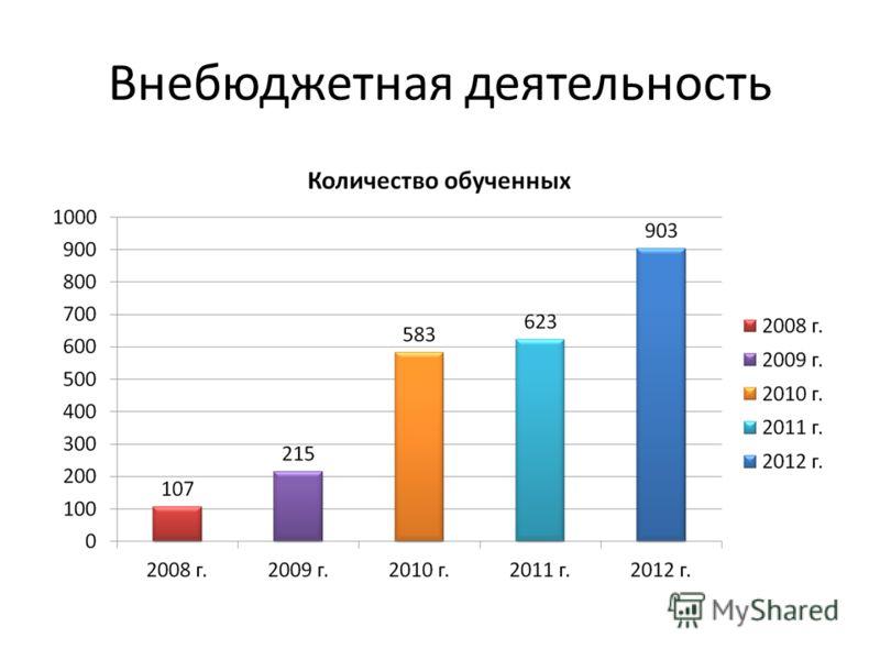 Внебюджетная деятельность
