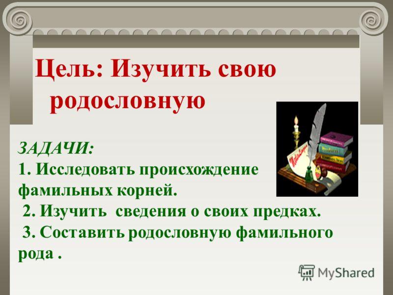 «Моя родословная» Парахина Настя 8 «г» класс МКОУ СОШ 25 СВОБОДНЫЙ