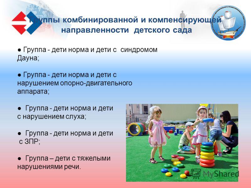 Группа - дети норма и дети с синдромом Дауна; Группа - дети норма и дети с нарушением опорно-двигательного аппарата; Группа - дети норма и дети с нарушением слуха; Группа - дети норма и дети с ЗПР; Группа – дети с тяжелыми нарушениями речи. Группы ко