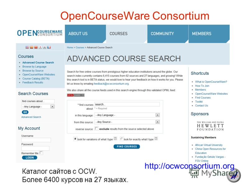 opencourseware consortium conference Sign in now to see your channels and recommendations sign in watch queue queue.