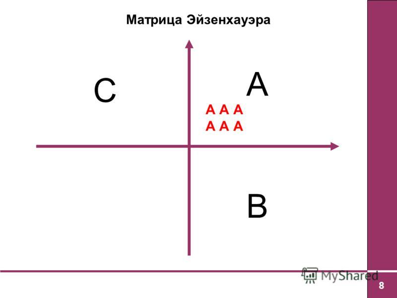 8 А В С А А А