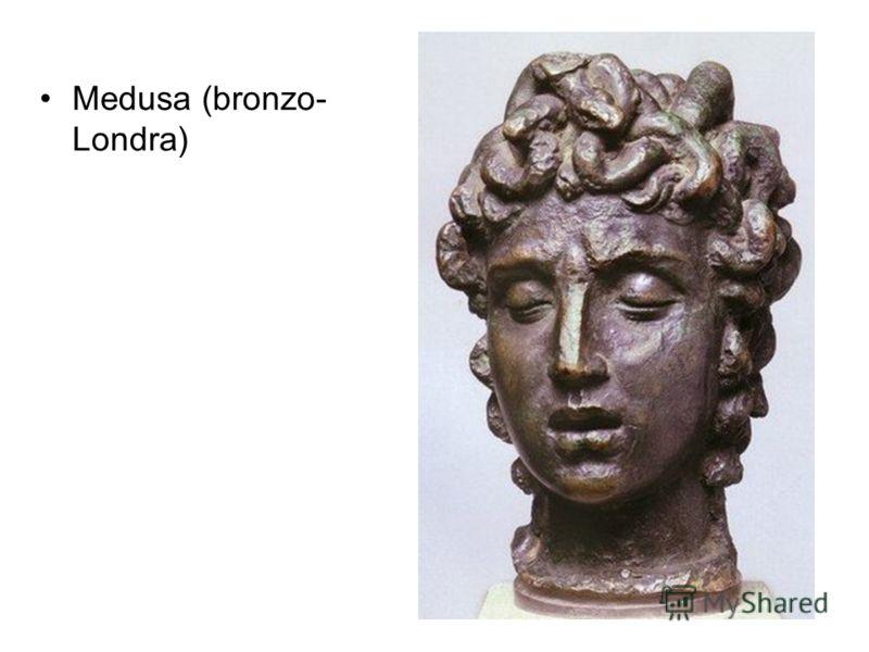 Medusa (bronzo- Londra)