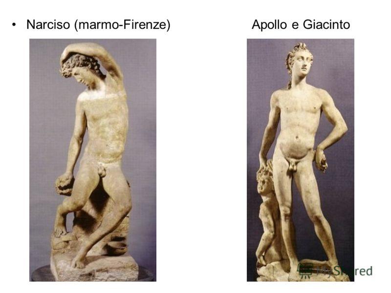 Narciso (marmo-Firenze)Apollo e Giacinto
