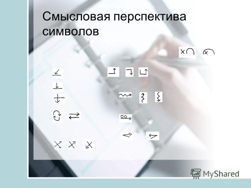 Смысловая перспектива символов