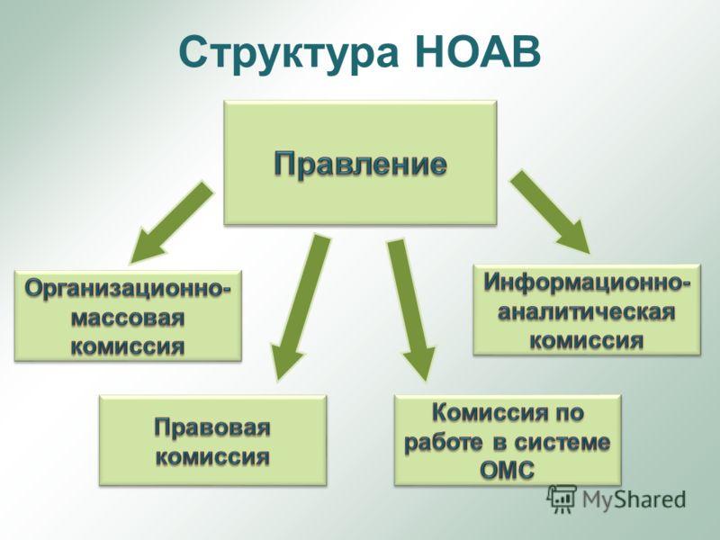 Структура НОАВ