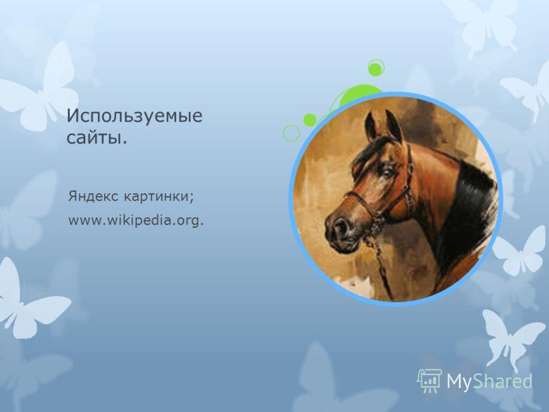 Используемые сайты. Яндекс картинки; www.wikipedia.org.