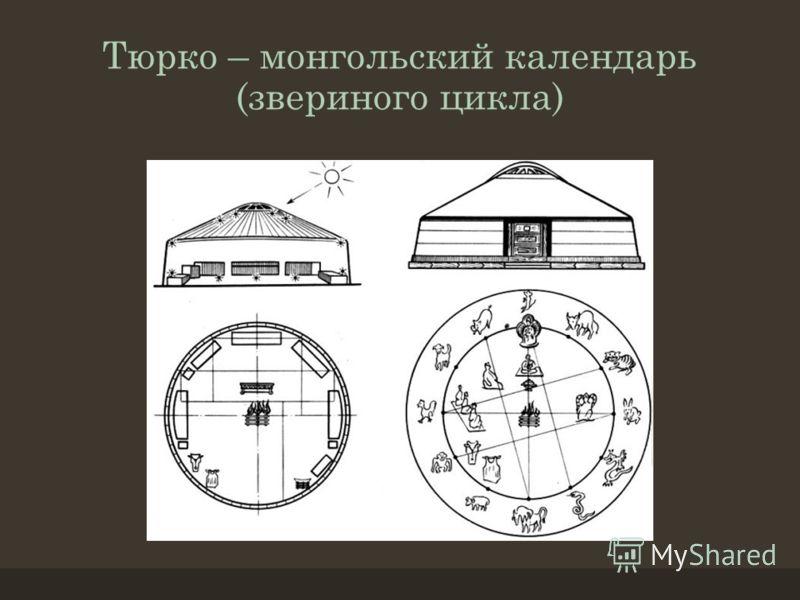 Тюрко – монгольский календарь (звериного цикла)