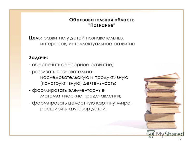 12 Образовательная область