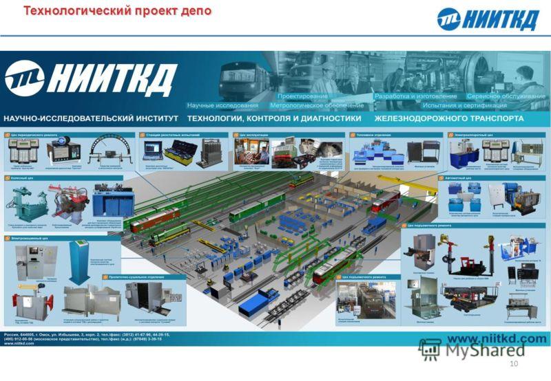 10 Технологический проект депо