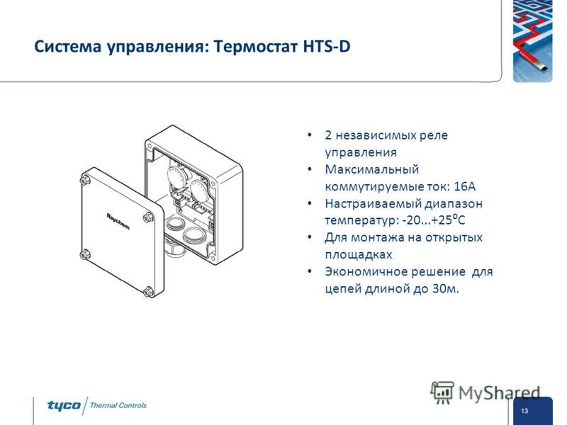 HTS-D 2 независимых реле