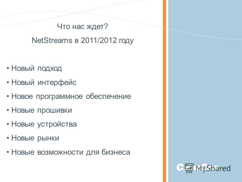 ©2010 ClearOne Communications. Confidential and proprietary. Что нас ждет? NetStreams в 2011/2012 году Новый подход Новый интерфейс Новое программное обеспечение Новые прошивки Новые устройства Новые рынки Новые возможности для бизнеса