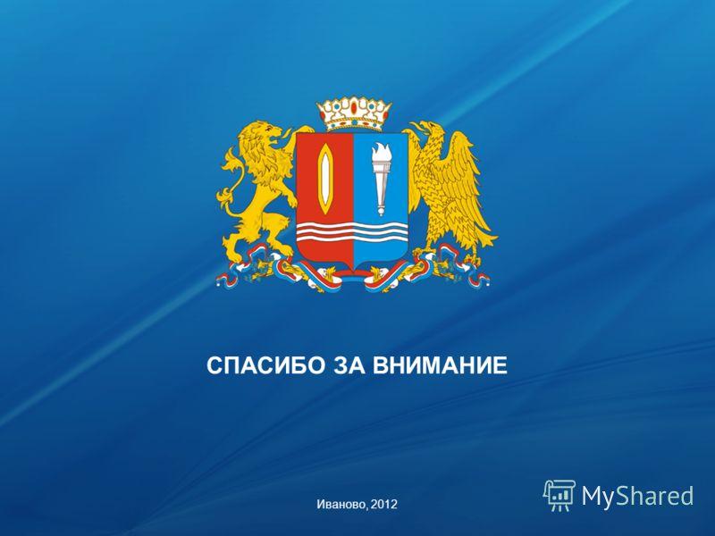 СПАСИБО ЗА ВНИМАНИЕ Иваново, 2012