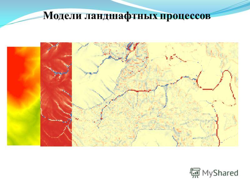 Модели ландшафтных процессов