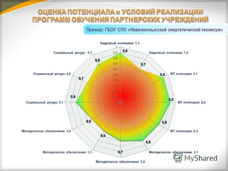 Пример: ГБОУ СПО «Невинномысский энергетический техникум»