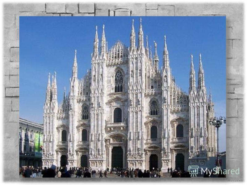 Самый большой по площади (длина 158 м, ширина 93 м, вмещает до 40 тыс. человек) Самый большой по высоте центрального нефа (46,8 м) Единственный мраморный готический собор в мире. Над его алтарем находится одна из ценнейших христианских реликвий: гвоз