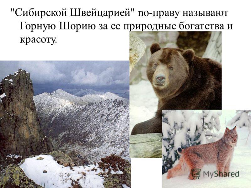 Сибирской Швейцарией no-праву называют Горную Шорию за ее природные богатства и красоту.