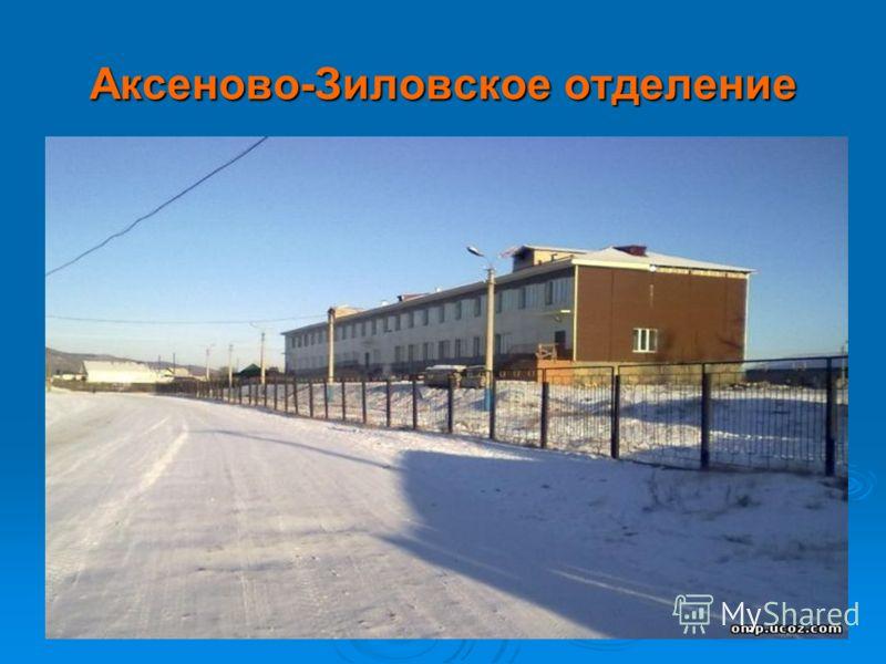 Аксеново-Зиловское отделение