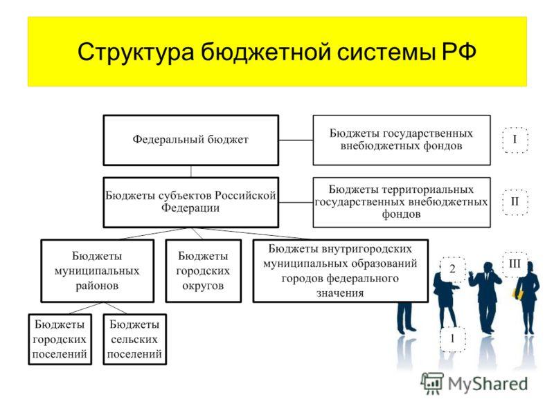 Структура бюджетной системы РФ