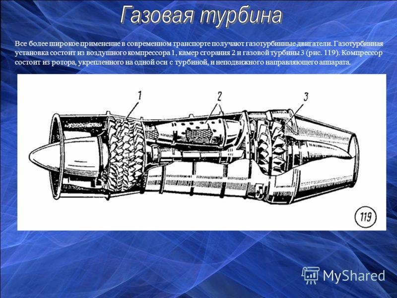 и газовой турбины 3 (рис.