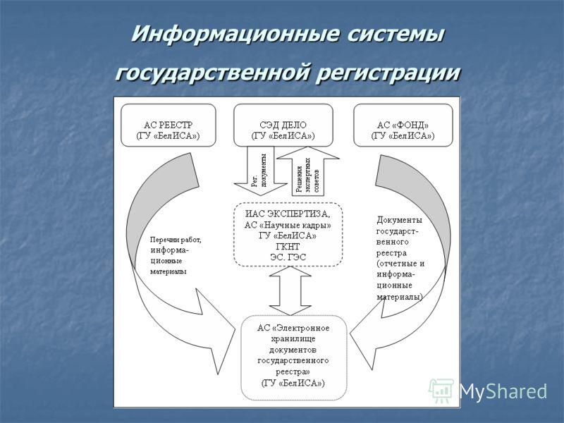 Информационные системы государственной регистрации