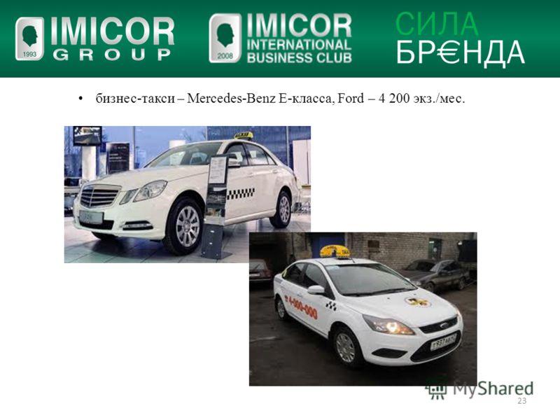 … делать бизнес вместе!И предлагаем воспользоваться шансом… 23 бизнес-такси – Mercedes-Benz Е-класса, Ford – 4 200 экз./мес.