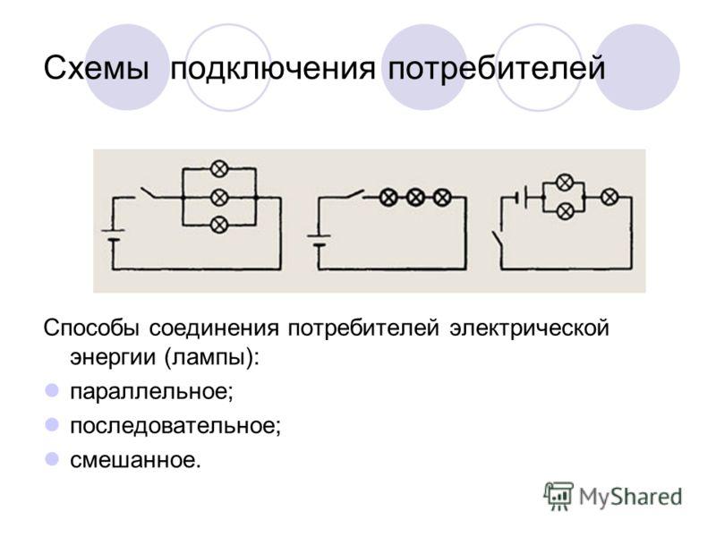 Электрическая схема карманного фонарика В электротехнике принято изображать цепи с помощью условных обозначений в виде электрических схем.