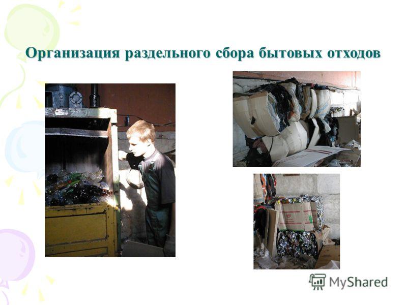 Организация раздельного сбора бытовых отходов