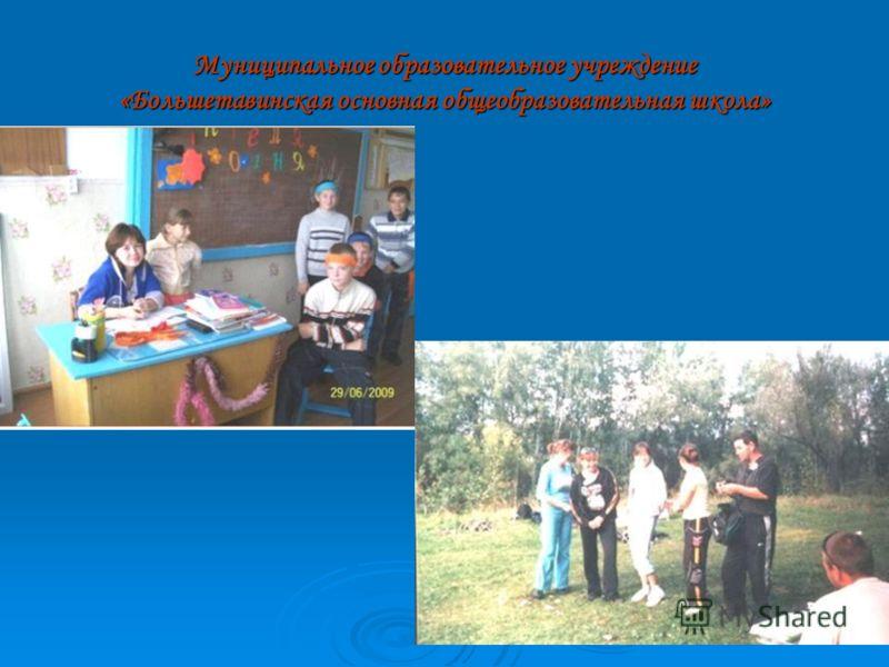 Муниципальное образовательное учреждение «Слободчиковская основная общеобразовательная школа»