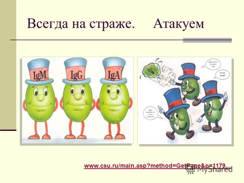 Всегда на страже. Атакуем www.csu.ru/main.asp?method=GetPage&p=1179...
