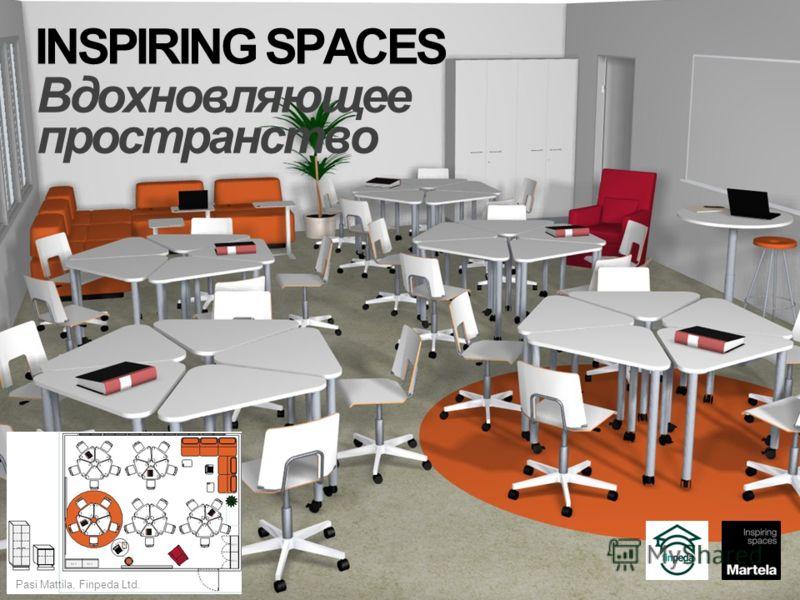 ® INSPIRING SPACES Вдохновляющее пространство Pasi Mattila, Finpeda Ltd.