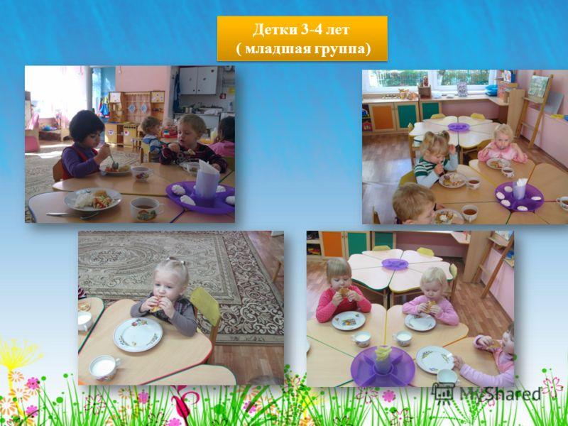 Детки 3-4 лет ( младшая группа) Детки 3-4 лет ( младшая группа)