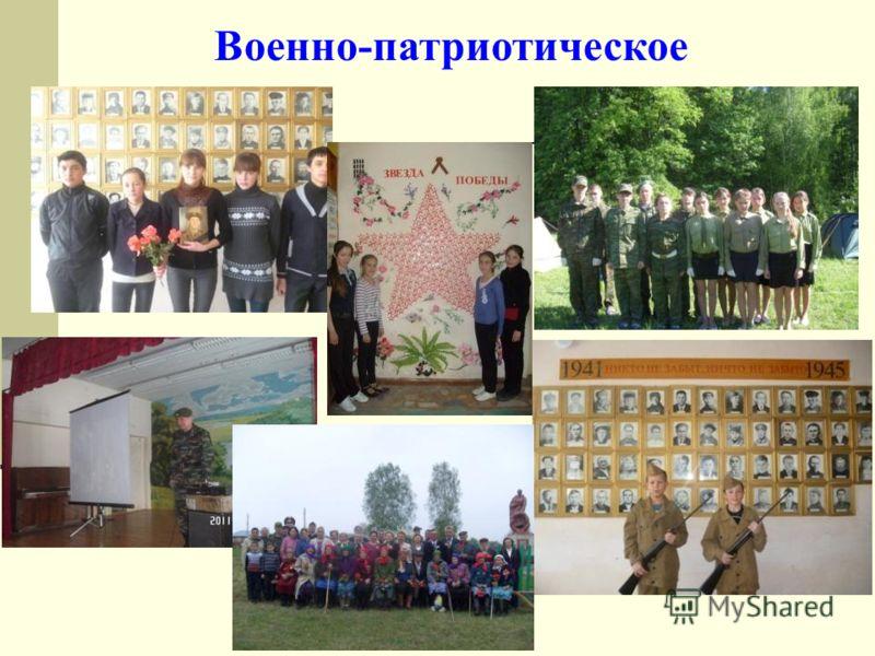 Военно-патриотическое