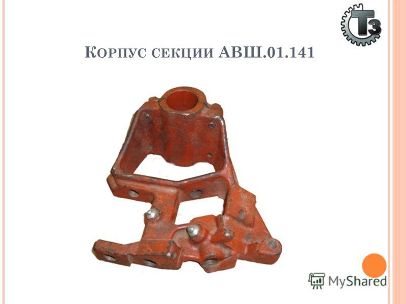 К ОРПУС СЕКЦИИ АВШ.01.141