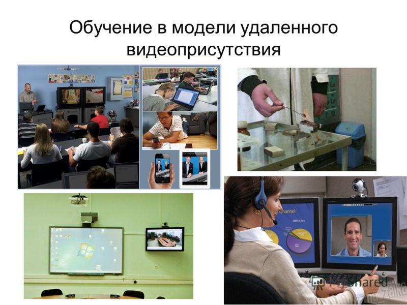 Обучение в модели удаленного видеоприсутствия