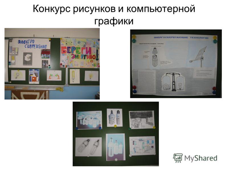 Конкурс рисунков и компьютерной графики
