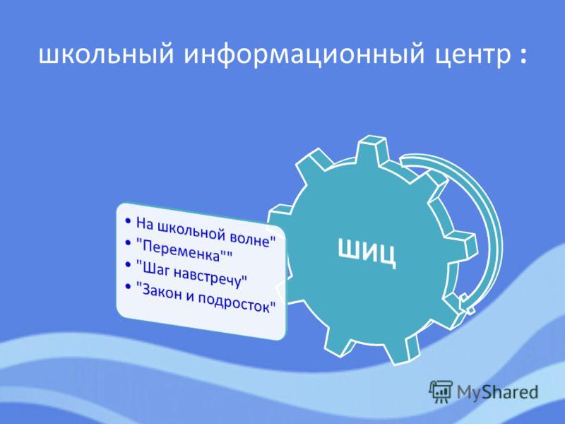школьный информационный центр :