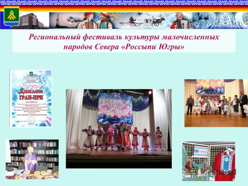 Региональный фестиваль культуры малочисленных народов Севера «Россыпи Югры»